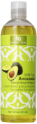 Beauty Aura 100% Pure Avocado Oil - Moisturising - Supports Skin Elasticity - Nutrient Rich - 470ml - Hexane Free - No Synthetic Preservatives, Colours or Fragnances