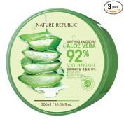 Soothing & Moisture Aloe Vera 92% Soothing Gel, 300ml/10.56oz