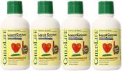 Child Life Liquid Calcium/Mag Natural Orange 470ml 4 Pk