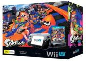 Wii U Console Splatoon Black Premium Pack
