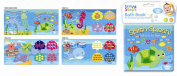 SOFT BABY BATH BOOK EDUCATIONAL TOY 6 MONTHS WATERPROOF SEA AND ALPHABET ANIMALS CHOOSE BOOK