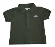 Baby Boys Olive Green Polo Shirt 6 Months