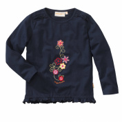 wellyou Girls' Long-Sleeved Top Blue Blue
