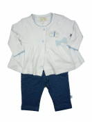 Baby Girl Outfit T-shirt, Jegging and Cardi Set