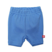 Zutano Baby-girls Infant Primary Solid Bike Shorts, Periwinkle, 12 Months Colour