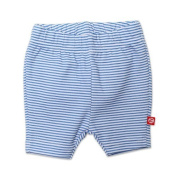 Zutano Baby-girls Infant Candy Stripe Bike Shorts, Periwinkle, 24 Months Colour