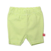 Zutano Baby-girls Infant Candy Stripe Bike Shorts, Lime, 6 Months Colour