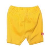 Zutano Baby-girls Infant Primary Solid Bike Shorts, Yellow, 6 Months Colour