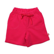 Zutano Baby-girls Infant Terry Drawstring Shorts, Fuchsia, 12 Months Colour