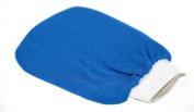 Authentic Blue Moroccan Hammam Exfoliating Glove, Mitt, 'Kesse' 'Gant de Gommage', Spa Quality