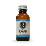 The Fresh Man Beard Oil - Spearmint & Eucalyptus Beard Oil - Scented Beard Conditioner by The 2 Bits Man