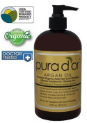 Triple Pack - 3 x Pura d'or Premium Organic Anti-Hair Loss Shampoo (Gold Label), 16 Fluid Ounce