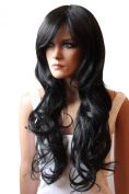 PRETTYSHOP Fashion Lady Wig Long Hair Cosplay Curled Wavy Heat-Resistant Diverse Colours