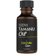 Tamanu Oil - Pure and Cold Pressed - For Skin, Nails, Face, Hair and Scars - Calophyllum Inophyllum