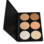Lowestbest Palette 6 Colours Makeup Contour Face Eye Powder Foundation