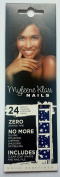 Myleene Klass Nails Instant Manicure & Pedicure Wraps Blue Stars
