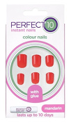 Eylure Perfect 10 Colour Nails, Mandarin