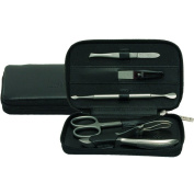 Windrose Ambiance Manicure Set 12 cm Leather schwarz