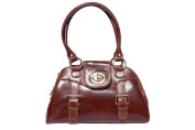 Shoulder and handbag with double handle 6539