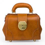 18cm Leather Doctors Bag (Tan)