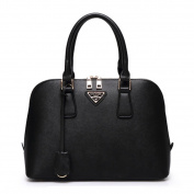 Coofit Lady's Pu Leather Handbag Business OL Style Elegant Totes Bags