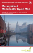 Merseyside & Manchester Cycle Map 25