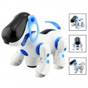 Popamazing Quality Interactive Cute i-Robot Robotic Pet Dog Walking Puppy Kids Educational Walking Toy Children