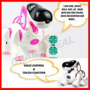 RC iRobotic Electronic i Robot Dog Remote Control Toy Pet Puppy for Kids Children by Grids London