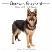 German Shepherd Studio Calendar 2016