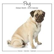 Pug Studio Calendar 2016