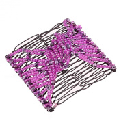 Magic Beads Double Women/Ladies Hair Clip Stretchy Hair Combs Clips