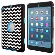 Atdoshop(TM) 1PC Zebra Combo Hybrid Silicone Case Cover For iPad mini 2 Retina