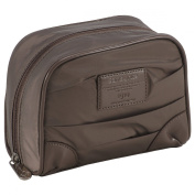 Samsonite Toiletry Bag Thallo Cosmetic Cases Make-Up Pouch Oval, Cinder (Brown) 56090 2995