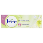 Veet Hair Removal Cream Dry Skin Shea Butter & Lily Fragrance 100ml