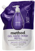 Gel Hand Wash Refill, French Lavender, 1010ml