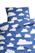 Farg Form Bedset with Cloud Print