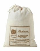 Hillhouse Naturals Cashmere Bath Salt in Drawstring Canvas Bag 470ml