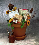 Sunny Day Garden Gourmet -Women's Birthday, Holiday, or Mother's Day Gift Basket Idea