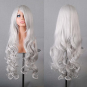 PRETTYSHOP 80cm Lady Wig Full Long Hair Cosplay curled Wavy Heat-Resistant colour Variation