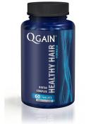 QGAIN Healthy Hair Biotin Complex Anti Hair Loss Advanced Treatment Hair Growth Vitamins 60 Tablets