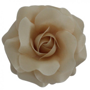 Sara Monica Flower Hair Clip and Pin Rose:Made in the USA