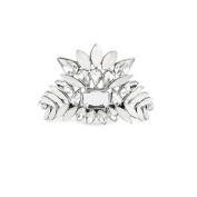 Kitsch Crystal Bun Pin, Silver, 5ml