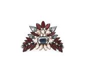 Kitsch Crystal Bun Pin, Gunmetal, 5ml