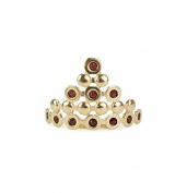 Kitsch Boho Bun Pin, Gold, 5ml
