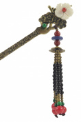 New Design Stylish Tassels Metal Hair Pins Stick Women's Hair Accessory T1069