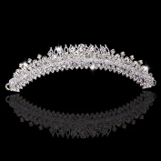 1 Piece of Crystal Rhinestones Crystal Wedding Bridal Pageant Princess Tiara Crown