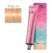 Schwarzkopf Professional Igora Royal Pearlescence Hair Colour - Pastel Amber - P9.5-74