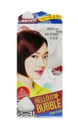 Miseenscene Hello Bubble Foam Colour 5w RED Wine Burgundy