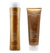 Brazilian Blowout Anti Frizz Shampoo and Acai Deep Conditioning Masque