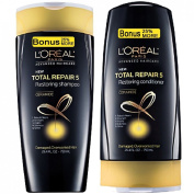 (SET) LOREAL Total Repair 5 (25% MORE) Shampoo & Conditioner 470ml each